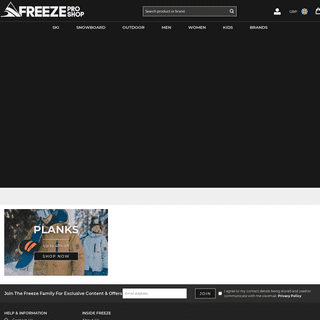 Your Ski, Snowboard, Surf & Outdoor Store - Freeze