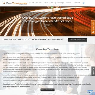 SAP ERP Solution Provider, Best SAP Service Provide in India