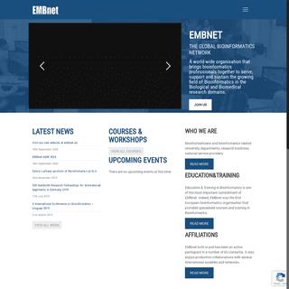 EMBnet - The Global Bioinformatics Network - EMBnet