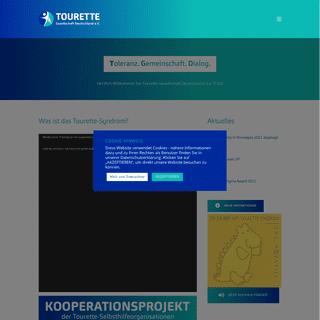 Willkommen - Tourette-Gesellschaft Deutschland e.V.