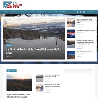 North Carolina Ski Resorts - West Virginia Ski Resorts