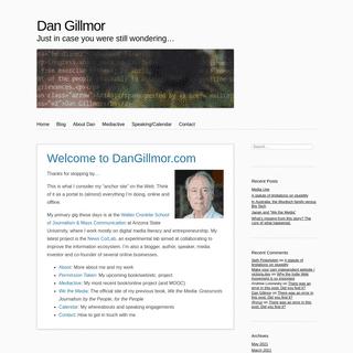 Dan Gillmor – Just in case you were still wondering…