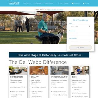 Retirement Communities for 55+ Active Adults - Del Webb