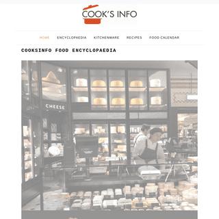 CooksInfo Food Encyclopaedia - CooksInfo