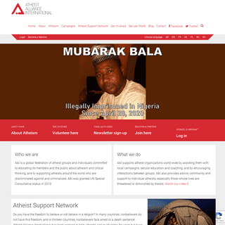 Atheist Alliance International - a positive voice for atheism and secularism