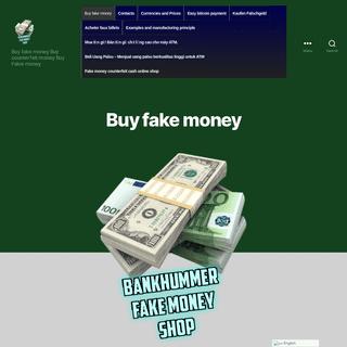 Buy fake money Dollars and EURO - Bankhummer.co - fake money for sale