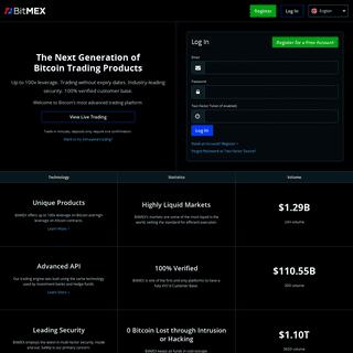 BitMEX - Bitcoin Mercantile Exchange- P2P Trading, Up To 100x Leverage