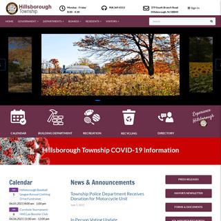 Hillsborough New Jersey - Home