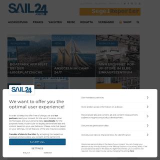 Das Segelportal Europas - Sail24.com