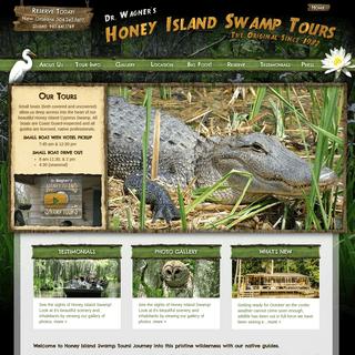 Original Honey Island Swamp Tour - New Orleans, Louisiana