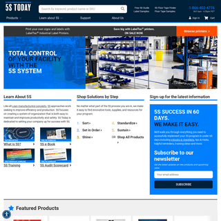 5SToday.com - 5S Training Solutions and Products