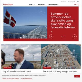 Regeringens politik med regeringens egne ord - Regeringen.dk