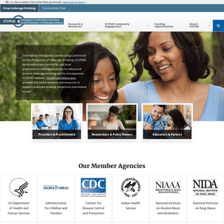 Portal for Federal Underage Drinking Prevention Resources