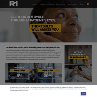 R1 RCM - Revenue Cycle Management