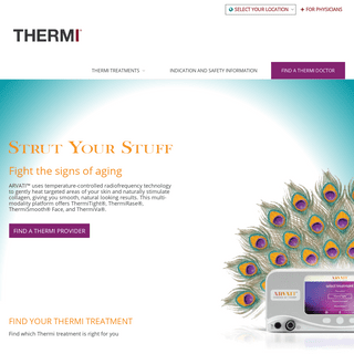 THERMI® RF - Official Site - THERMItight® THERMIva® THERMIsmooth®