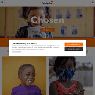 Verander de toekomst van een kind -World Vision