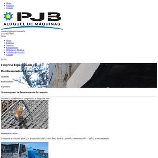 PJB Aluguel de Máquinas