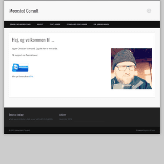 Moensted Consult – Christian Haugaard Mønsted