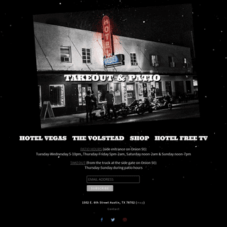 Hotel Vegas – East Austin`s Best Venue