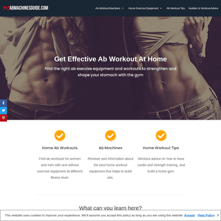 Best Ab Machines & Workouts for Home That Work