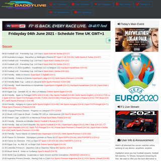 Daddylive - Live Sports Streaming - Best streaming site