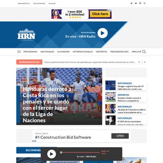Radio HRN - Del Grupo Emisoras Unidas