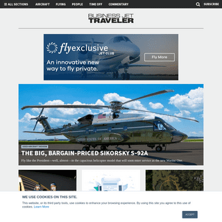 Business Jet Traveler - Maximizing Your Investment in Private Air Transport
