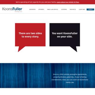 Texas Family Law & Divorce Attorneys - KoonsFuller, P.C.