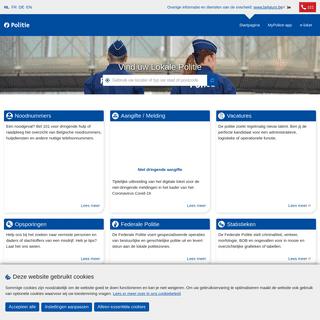Politie.be - Portaal van de Belgische Politie