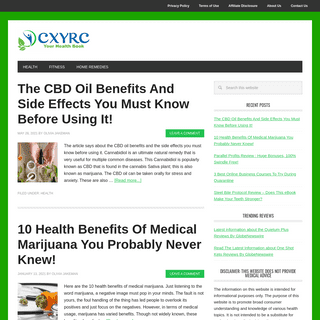 CXYRC - Your Health Book