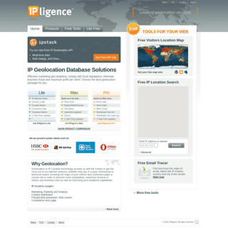 IP Address Location of Web Visitors & Geolocation services