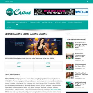CMD368CASINO Situs Casino online - Daftar Situs CMD368