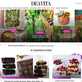 Deavita.com - Wohnideen, Design, Frisuren, Make-up, Lifestyle, Gesundheit und Beauty Tipps -