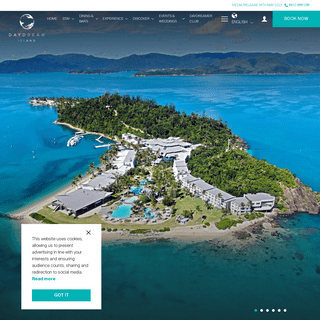 Daydream Island Resort - Official Website - Australia`s Famous Reef & Wildlife Experience