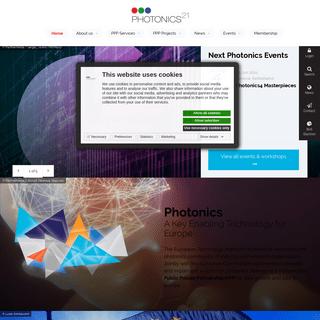 Photonics21 – A Key Enabling Technology for Europe