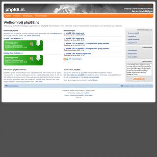 phpBB.nl - Homepage