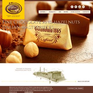 Caffarel - Finest Chocolate and the Best Hazelnuts