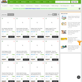 IndiaFreeStuff – Best Discounted Deals from Amazon, Flipkart & 280+ Online Stores