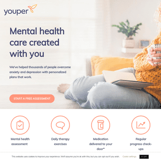 Youper - Mental Health Care Created With You