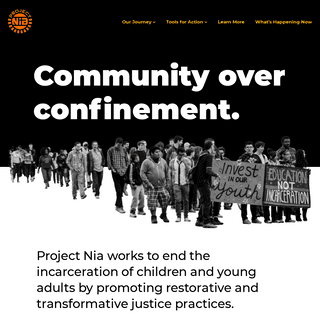 Project NIA - Homepage