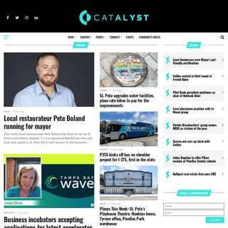 St. Pete Catalyst - Value-added local, social St. Petersburg business news.