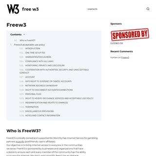 FreeW3.org
