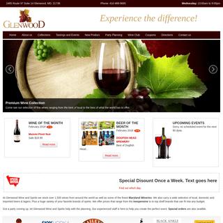 Glenwood Wine & Spirits - Maryland