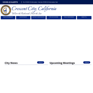 Official Website for the City of Crescent City California - home