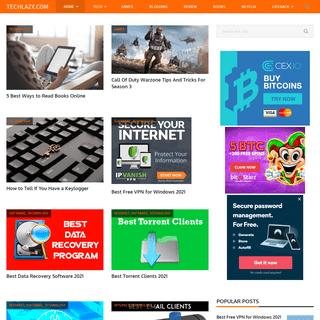 Techlazy.com - Technology Updates & Trending Stuff