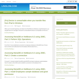 Linglom.com - Just another IT weblog