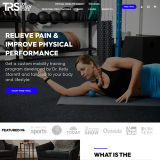 Mobility Training Program, Exercises, and Equipment - The Ready State