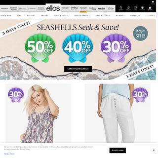 Stylish Plus Size Womens Clothing & Apparel - Ellos