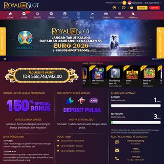 Royal Slot, Situs Judi Slot Online & Casino Online Terbaik Indonesia