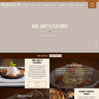 Biaggi's Ristorante Italiano - Italian Restaurants Near Me